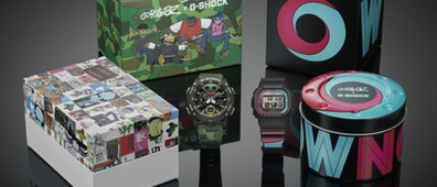 La colección de Gorillaz X G-Shock ha regresado