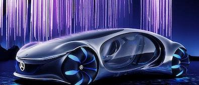 Un auto proveniente del maravilloso mundo de Pandora