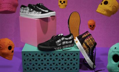 Vans lanza su colección Día de Muertos por tercer año consecutivo