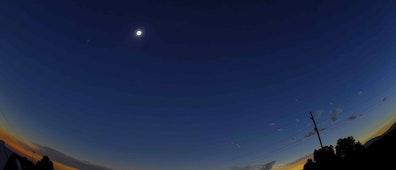 Eclipse total de Sol y tendencias populares