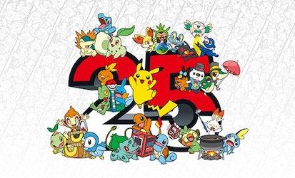Pokémon alista festejo por su gran 25 aniversario