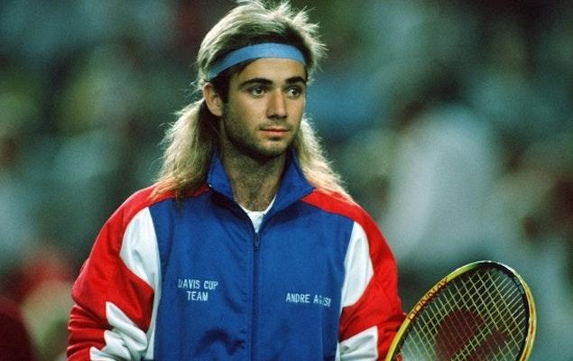 Andre Agassi: El rock and roll del tenis